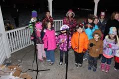 Tree Lighting, Santa, Lansford Alive, Kennedy Park, Lansford, 11-29-2014 (157)