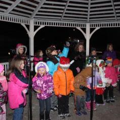 Tree Lighting, Santa, Lansford Alive, Kennedy Park, Lansford, 11-29-2014 (159)