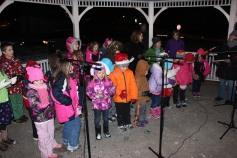 Tree Lighting, Santa, Lansford Alive, Kennedy Park, Lansford, 11-29-2014 (160)