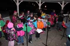 Tree Lighting, Santa, Lansford Alive, Kennedy Park, Lansford, 11-29-2014 (163)