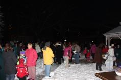 Tree Lighting, Santa, Lansford Alive, Kennedy Park, Lansford, 11-29-2014 (19)