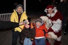 Tree Lighting, Santa, Lansford Alive, Kennedy Park, Lansford, 11-29-2014 (220)