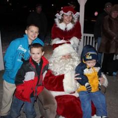 Tree Lighting, Santa, Lansford Alive, Kennedy Park, Lansford, 11-29-2014 (231)