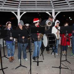 Tree Lighting, Santa, Lansford Alive, Kennedy Park, Lansford, 11-29-2014 (46)