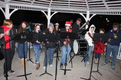 Tree Lighting, Santa, Lansford Alive, Kennedy Park, Lansford, 11-29-2014 (47)