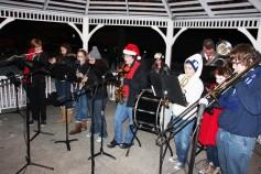 Tree Lighting, Santa, Lansford Alive, Kennedy Park, Lansford, 11-29-2014 (60)