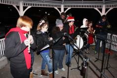 Tree Lighting, Santa, Lansford Alive, Kennedy Park, Lansford, 11-29-2014 (61)