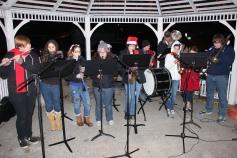 Tree Lighting, Santa, Lansford Alive, Kennedy Park, Lansford, 11-29-2014 (69)