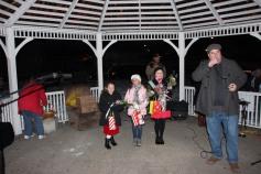 Tree Lighting, Santa, Lansford Alive, Kennedy Park, Lansford, 11-29-2014 (9)