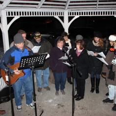 Tree Lighting, Santa, Lansford Alive, Kennedy Park, Lansford, 11-29-2014 (99)