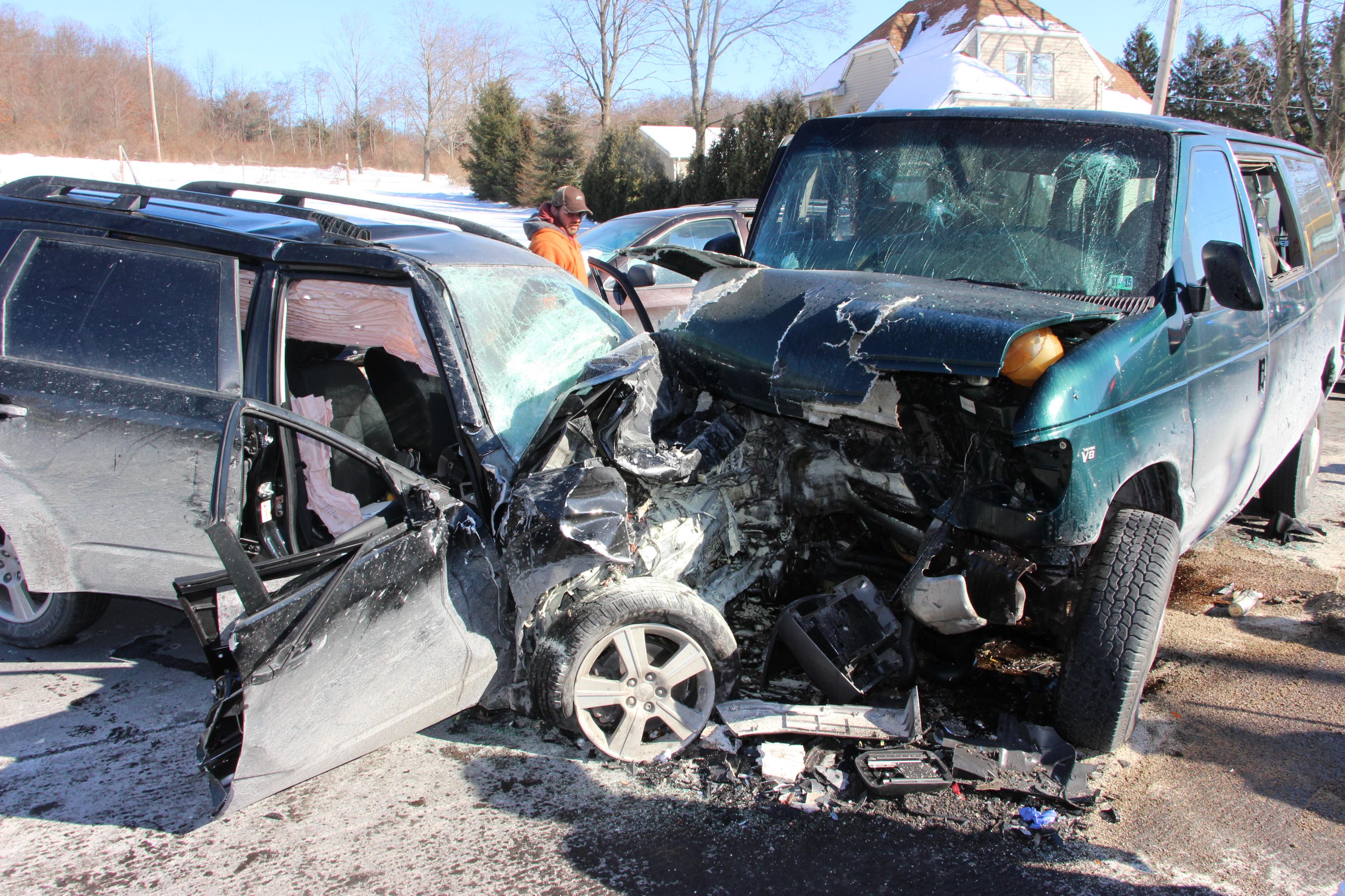 Car Crash Claremont