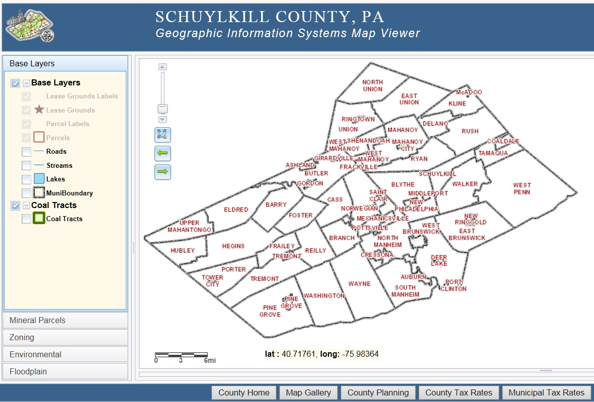 schuylkill county property tax records
