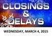 SCHOOL CLOSINGS AND DELAYS (2) - Copy 2