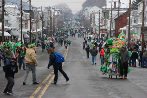 St Patrick's Day Parade, 12th Annual, Girardville, 3-21-2015 (1)