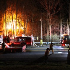 House Fire, SR309, West Penn Pike, 365 Mush Dahl Road, West Penn Township (100)