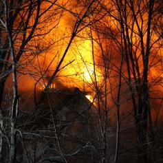 House Fire, SR309, West Penn Pike, 365 Mush Dahl Road, West Penn Township (128)