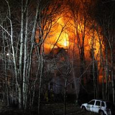 House Fire, SR309, West Penn Pike, 365 Mush Dahl Road, West Penn Township (130)