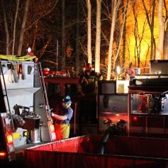 House Fire, SR309, West Penn Pike, 365 Mush Dahl Road, West Penn Township (146)