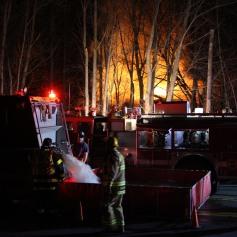 House Fire, SR309, West Penn Pike, 365 Mush Dahl Road, West Penn Township (163)