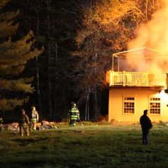 House Fire, SR309, West Penn Pike, 365 Mush Dahl Road, West Penn Township (199)