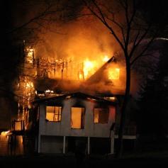 House Fire, SR309, West Penn Pike, 365 Mush Dahl Road, West Penn Township (203)