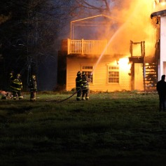 House Fire, SR309, West Penn Pike, 365 Mush Dahl Road, West Penn Township (207)