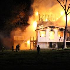 House Fire, SR309, West Penn Pike, 365 Mush Dahl Road, West Penn Township (214)
