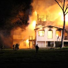 House Fire, SR309, West Penn Pike, 365 Mush Dahl Road, West Penn Township (216)