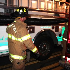 House Fire, SR309, West Penn Pike, 365 Mush Dahl Road, West Penn Township (245)