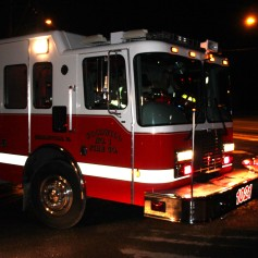 House Fire, SR309, West Penn Pike, 365 Mush Dahl Road, West Penn Township (292)