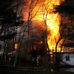 House Fire, SR309, West Penn Pike, 365 Mush Dahl Road, West Penn Township (3)