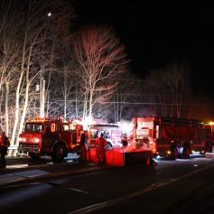 House Fire, SR309, West Penn Pike, 365 Mush Dahl Road, West Penn Township (63)