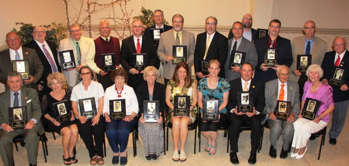 Carbon County Sports Hall Of Fame, Memorial Hall, Jim Thorpe, 5-24-2015 (108)