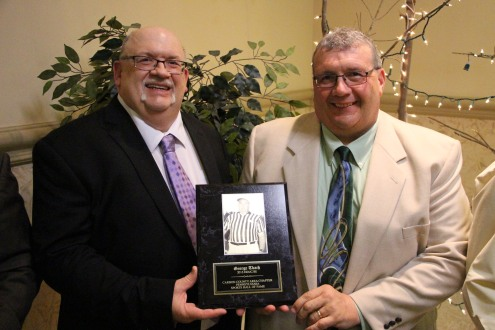 Carbon County Sports Hall Of Fame, Memorial Hall, Jim Thorpe, 5-24-2015 (167)