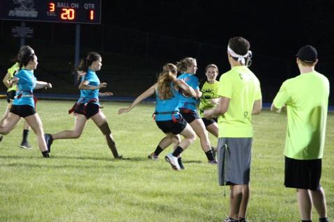Powder Puff Football Tournament, via Biology Club, TASD Sports Stadium, Tamaqua (141)