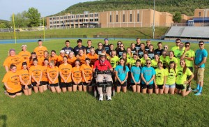 Powder Puff Football Tournament, via Biology Club, TASD Sports Stadium, Tamaqua (8)