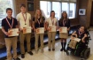 Tamaqua High School Students Recognized at St. Nicholas Hall, 5-14-2015