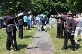 Tamaqua Memorial Day Service, Soldiers Circle, Odd Fellow Cemetery, Tamaqua, 5-25-2015 (144)