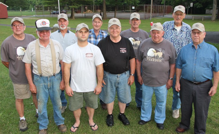 Installation of Officers, Andreas VFW Post 5069, Community Park, West Penn, 6-10-2015 (8)