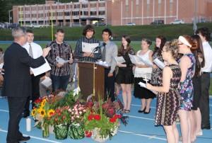 TAHS Jazz Chorale sings