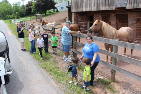 Open House, Horses and Horizons Therapeutic Learning Center, West Penn Township, 6-7-2015 (18)