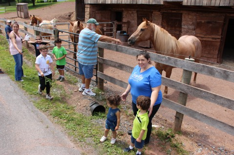 Open House, Horses and Horizons Therapeutic Learning Center, West Penn Township, 6-7-2015 (19)
