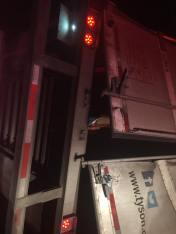 Overturned Tractor Trailer, Interstate 81, Exit 138, Kline Township, 6-7-2015 (4)