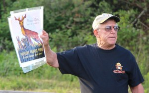 Jimmy Shaffer, 55-year Forest Fire Warden, talks about the Smokey Bear Tribute.