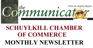 Schuylkill Chamber of Commerce, Communicator, Newsletter LOGO, emblem