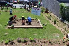 Season Grand Opening, Lansford Community Garden, Lansford, 6-13-2015 (30)