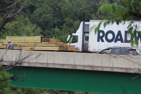 3 Tractor Trailer Accident, Mile Marker 126, Interstate 81, 7-30-2015 (18)