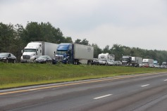 3 Tractor Trailer Accident, Mile Marker 126, Interstate 81, 7-30-2015 (39)