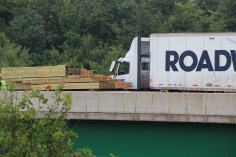 3 Tractor Trailer Accident, Mile Marker 126, Interstate 81, 7-30-2015 (5)