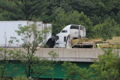 3 Tractor Trailer Accident, Mile Marker 126, Interstate 81, 7-30-2015 (6)